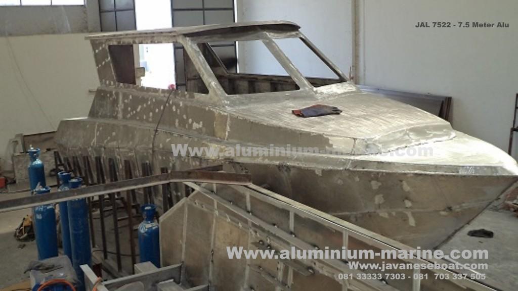 JAL 7522 kapal Patroli Aluminium
